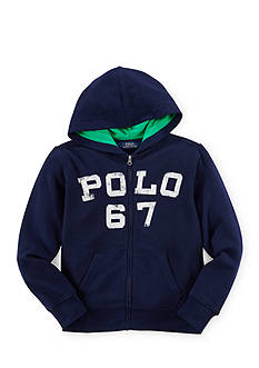Ralph Lauren Childrenswear Varsity Screen Print Hoodie Boys 8-20