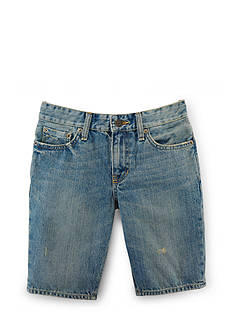 Ralph Lauren Childrenswear Andre Wash Denim Shorts Boys 8-20