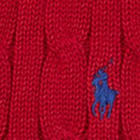 Boys Easter Clothes: Carriage Red Ralph Lauren Childrenswear Cable-Knit Cotton Sweater Vest Boys 8-20