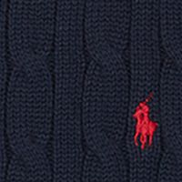 Boys Easter Clothes: Hunter Navy Ralph Lauren Childrenswear Cable-Knit Cotton Sweater Boys 8-20