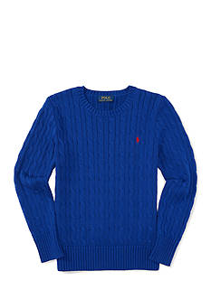 Ralph Lauren Childrenswear Cable-Knit Cotton Sweater Boys 8-20