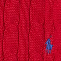 Boys Easter Clothes: Carriage Red Ralph Lauren Childrenswear Cable-Knit Cotton Sweater Boys 8-20