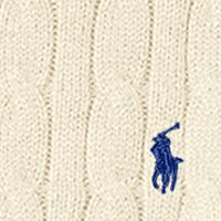 Boys Easter Clothes: Hanover Cream Ralph Lauren Childrenswear Cable-Knit Cotton Sweater Boys 8-20