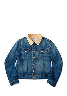 Ralph Lauren Childrenswear Slim Fit Rider Jeans Boys 8-20