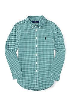 Polo Ralph Lauren Poplin Shirt Boys 8-20
