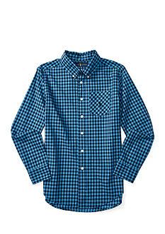 Ralph Lauren Childrenswear Poplin Plaid Top Boys 8-20