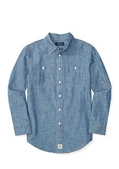 Ralph Lauren Childrenswear Chambray Shirt Boys 8-20