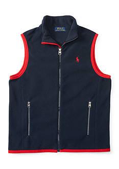 Ralph Lauren Childrenswear Fleece Vest Boys 8-20