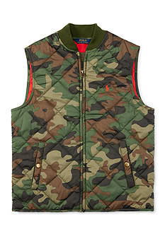 Ralph Lauren Childrenswear Quilted Vest Boys 8-20