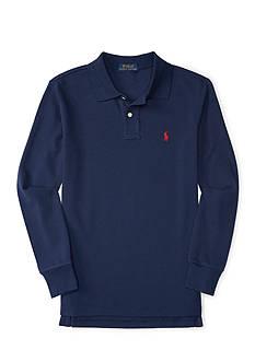 Ralph Lauren Childrenswear Mesh Long Sleeve Polo Boys 8-20