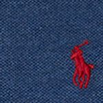 Boys Polo Shirts: Navy Heather Ralph Lauren Childrenswear Mesh Long Sleeve Polo Boys 8-20