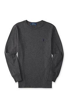 Ralph Lauren Childrenswear Cotton Long Sleeve Tee Boys 8-20