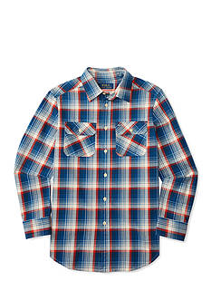 Ralph Lauren Childrenswear Twill Button Down Shirt Boys 8-20