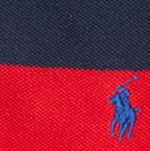 Boys Polo Shirts: Red Polo Ralph Lauren Stripe Polo Boys 8-20