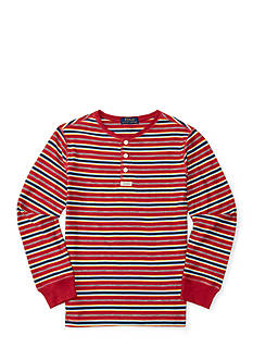 Ralph Lauren Childrenswear Jersey Henley Shirt Boys 8-20