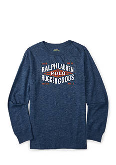 Ralph Lauren Childrenswear Graphic Logo Tee Boys 8-20