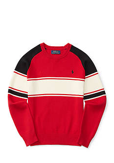 Ralph Lauren Childrenswear Striped Cotton Sweater Boys 8-20
