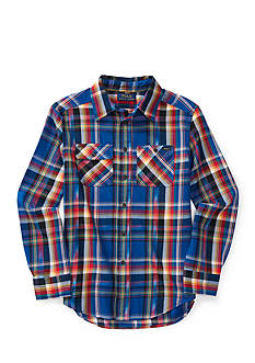 Ralph Lauren Childrenswear Plaid Twill Matlock Shirt Boys 8-20