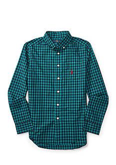 Ralph Lauren Childrenswear Cotton Poplin Pocket Shirt Boys 8-20