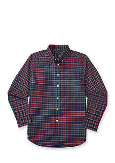 Cotton Poplin Dress Shirt Boys 8-20
