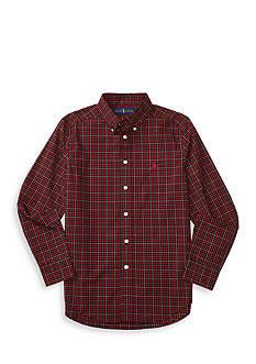 Polo Ralph Lauren Cotton Poplin Dress Shirt Boys 8-20