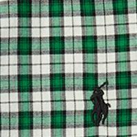 Baby & Kids: Ralph Lauren Childrenswear All Dressed Up: Green/Cream Multi Ralph Lauren Childrenswear Cotton Twill Shirt Boys 8-20