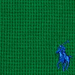Ralph Lauren Boys: Parrot Green Ralph Lauren Childrenswear Waffle-Knit Cotton-Blend Tee Boys 8-20