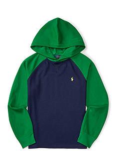 Ralph Lauren Childrenswear Cotton-Blend Hoodie Boys 8-20