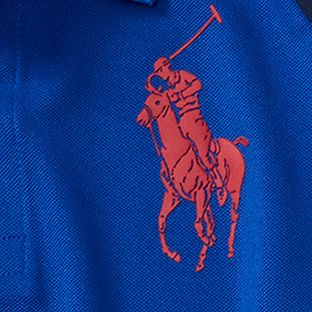 Boys Polo Shirts: Sapphire Star Ralph Lauren Childrenswear Tech Mesh Polo Shirt Boys 8-20