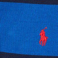 Boys Sweaters: Sapphire Star Ralph Lauren Childrenswear French Rib Striped Pullover Boys 8-20