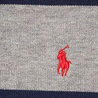 Boys Sweaters: Battalion Heather Multi Ralph Lauren Childrenswear French Rib Striped Pullover Boys 8-20