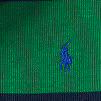 Ralph Lauren Boys: Parrot Green Multi Ralph Lauren Childrenswear French Rib Striped Pullover Boys 8-20
