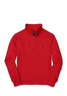 Ralph Lauren Childrenswear Long Sleeve Waffle Knit Top Boys 8-20