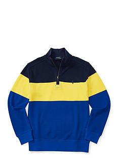 Ralph Lauren Childrenswear Cotton Mesh Half-Zip Pullover Boys 8-20