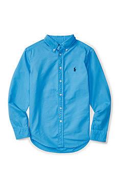 Ralph Lauren Childrenswear Garment-Dyed Cotton Shirt Boys 8-20