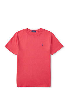 Ralph Lauren Childrenswear Jersey Short Sleeve Cotton Tee Boys 8-20