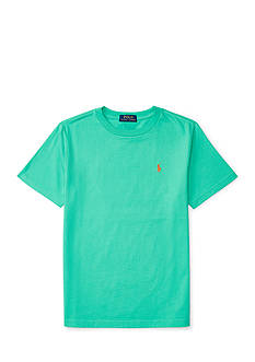 Ralph Lauren Childrenswear Jersey Short Sleeve Crew Neck Tee Boys 8-20