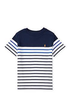Ralph Lauren Childrenswear Striped Cotton Jersey Tee Boys 8-20