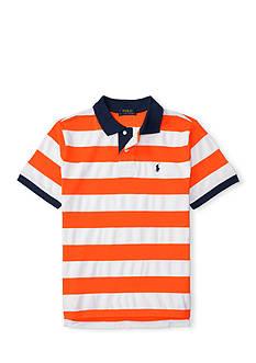 Polo Ralph Lauren Striped Cotton Mesh Polo Boys 8-20