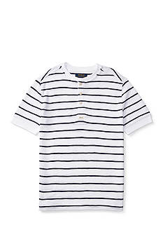 Ralph Lauren Childrenswear Waffle-Knit Cotton Henley Boys 8-20