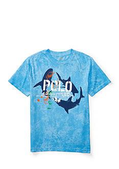Ralph Lauren Childrenswear Cotton Jersey Graphic Tee Boys 8-20