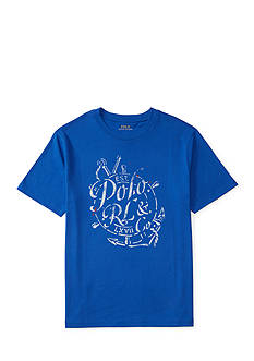 Ralph Lauren Childrenswear Cotton Jersey Graphic Tee Boys 8-20