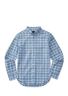 Ralph Lauren Childrenswear Cotton-Blend Madras Shirt Boys 8-20