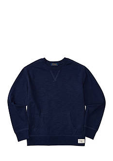 Ralph Lauren Childrenswear Slub Cotton Jersey Sweatshirt Boys 8-20