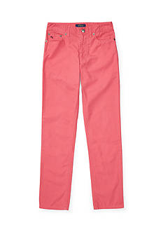 Ralph Lauren Childrenswear Slub Canvas Skinny Fit 5 Pocket Pant Boys 8-20