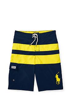 Ralph Lauren Childrenswear Kailua Stripe Board Shorts Boys 8-20