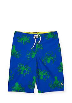 Ralph Lauren Childrenswear Sanibel Octopus-Print Trunks Boys 8-20