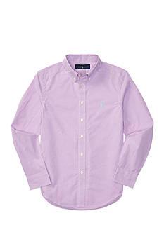 Ralph Lauren Childrenswear Poplin Shirt Boys 8-20