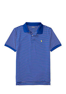 Ralph Lauren Childrenswear Performance Lisle Short Sleeve Knit Polo Boys 8-20