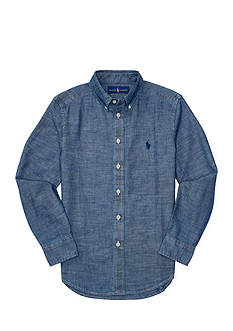 Ralph Lauren Childrenswear Chambray Blake Shirt Boys 8-20